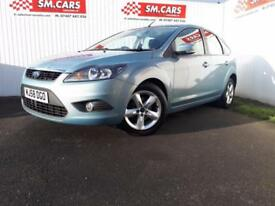 2008 58 FORD FOCUS 1.6 ZETEC 5 DOOR,NICE LOW MILEAGE EXAMPLE.FINANCE AVAILABLE .