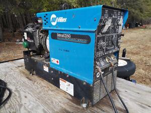 Miller Bobcat welder and trailer