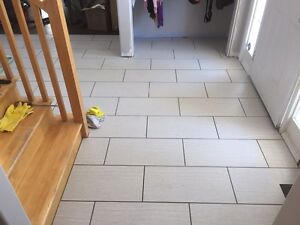Tile Installation in Windsor and Surrounding areas!