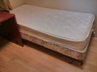 Twin Mattress for Sale from a Student House