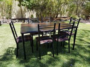 Dining Table + 6 Chairs Panorama Mitcham Area Preview