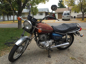 1981 Honda cm200t only 680kms!!