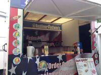 Catering trailer/burger van/sweets/donut/hot dog/ice cream