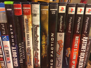Variety of PS 2 Games