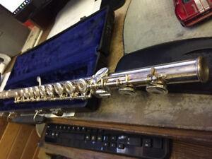 Artley 15-0-N Silver Open Hole Flute