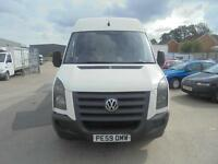 Volkswagen Crafter 2.5BlueTDi ( 109PS ) CR35 LWB - 2009 59-REG - FULL MOT