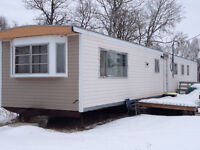 Mobile home trailer
