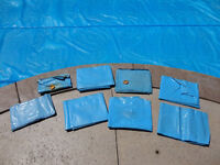 8 Pool Cover Water Bag Weights 8' -No leaks - All for $40.00