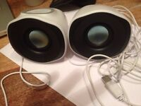 Logitech z110 USB speakers