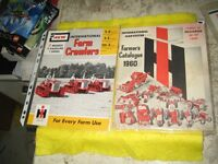 IH  BUYER GUIDE 1960 AND FARM CRAWLER TRACTOR RARE