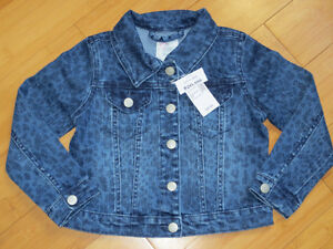 "NEW!  Girls ""TCP"" Jean Jackets - Size 3"