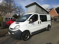 Vauxhall Vivaro Pop Top Campervan For Sale