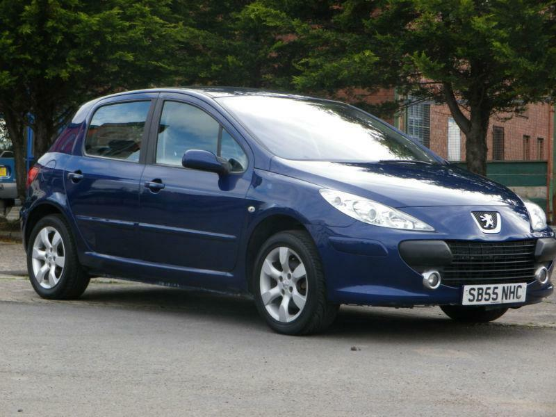 peugeot 307 1 6hdi 110 2006 se blue 5 door hatchback in portobello edinburgh gumtree. Black Bedroom Furniture Sets. Home Design Ideas