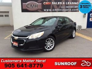 2014 Chevrolet Malibu 1LT  ROOF CAM PWR-SEAT HTD-SEATS 7 -TOUCH