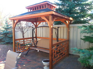Gazebo buy or sell patio garden furniture in edmonton for Outdoor furniture kijiji