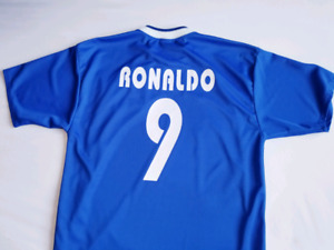 Ronaldo Brazil away jersey #9 large size mens