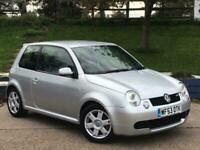 Volkswagen Lupo 1.6 GTi 3dr SERVICE HISTORY