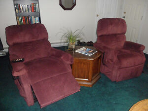 Recliner Lift Chairs for sale in perfect conditionl