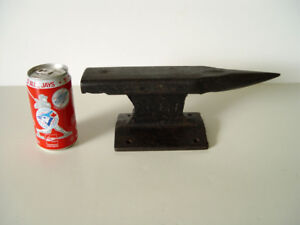"Railroad-Track-Anvil 12"" Blacksmith Jeweler Forge, Steampunk"