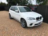 2011/61 BMW X5 3.0TD XDrive30d M Sport Auto 7 Seater FSH £0 Deposit Finance P/X