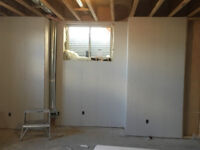 Professional drywall crew. Fast, reliable and good prices