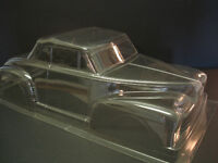 RARE VINTAGE R/C 1/10 PARMA 1947 FORD CONVERTIBLE LEXAN BODY