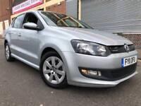 Volkswagen Polo 2011 1.2 TDI BlueMotion Tech 5 door F/S/H, £0 ROAD TAX, WARRANTY