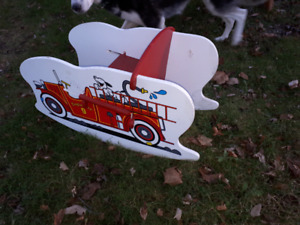 Wooden Toy Car Rocking Chair