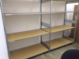 High-end warehouse/retail shelving units for sale