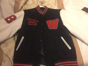 Nice fall varsity jacket very excellent condition