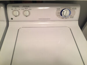 Joint GE Washer and Dryer