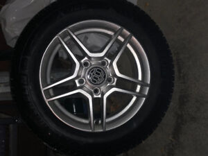 REDUCED $100: 4 Michelin winter tires on rims
