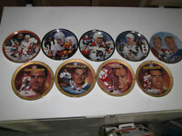 Discounted hockey plates!: Make me an offer for all of them