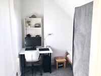 Unfurnished double room in flat near city center