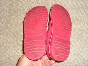 Stride Rite -Dark Pink Leather Size 12 Cambridge Kitchener Area image 3
