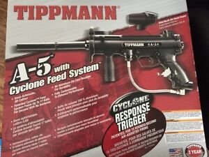 Tippmann a5 used once and spyder sonix never used