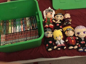GIGANTIC NARUTO LOT.