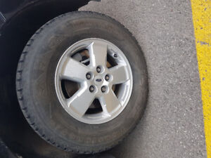 Ford Escape 16 in. Mags and tires