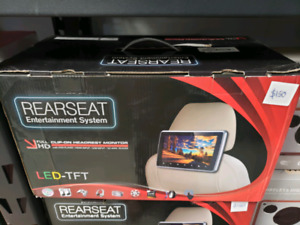 Rear seat entertainment system  DVD with hdmi