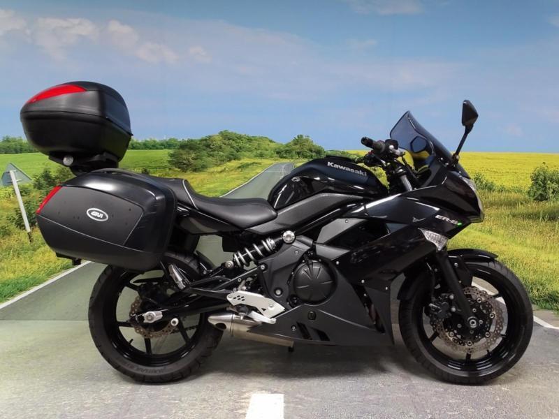 Kawasaki ER6F 2011 **FULL GIVI LUGGAGE!**   in Stoke-on ...