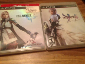 PS3 FINAL FANTASY GAMES FOR BOTH