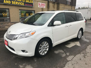 2011 Toyota Sienna V6 Limited 7-Pass AWD Navigation