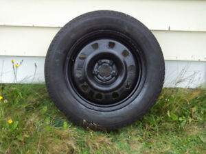 4-Michelin X-Ice winter tires (P225/65R/17) and rims for sale