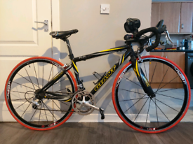 Giant TCR Compact Road Campag Centaur lightweight bike brand new tyres