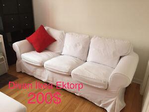 Housse ektorp ikea acheter et vendre dans grand montr al for Housse divan ikea