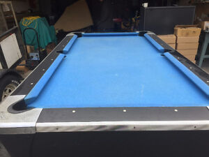 Coin Operated Pool Table – Excellent Condition