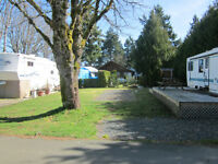 RV Site for rent in Qualicum Bay, B.C.