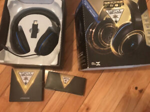 Casque turtle beach ear force stealth 500p / PS4 headset 500p