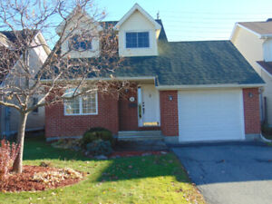 Beautiful single house for rent in lovely Orleans neighbourhood