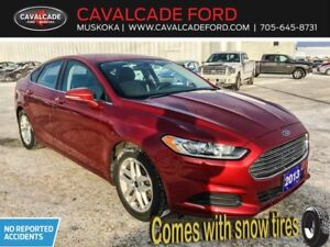 2013 Ford Fusion SE WITH SNOW TIRES LOCAL TRADE IN